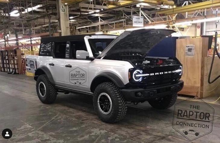 Ford Bronco 2021: Filtran su primera imagen (+FOTO) - Gossip Vehiculos