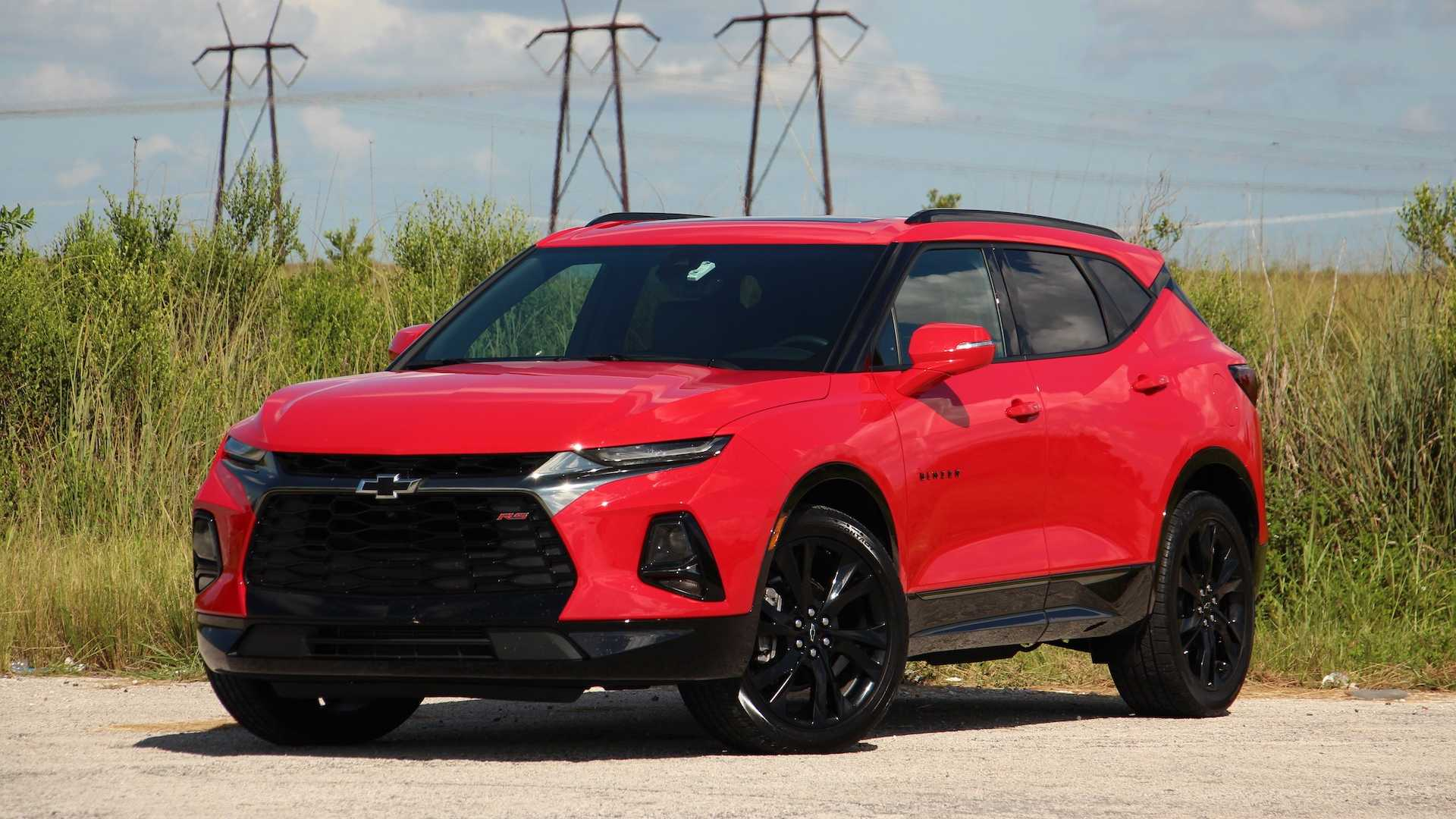 2020 The Chevy Blazer Concept and Review