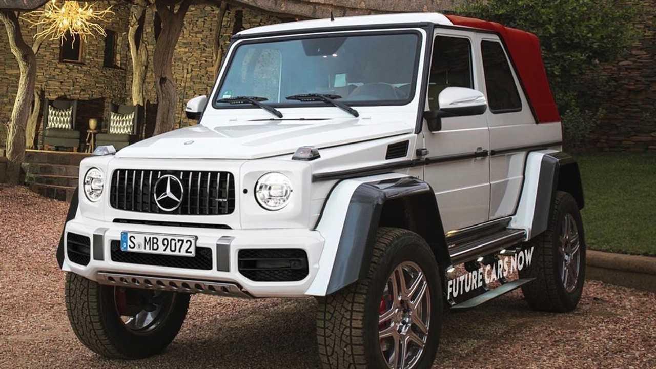 Mercedes Benz Amg G63 Vuelve Con La Clase G Descapotable Gossip