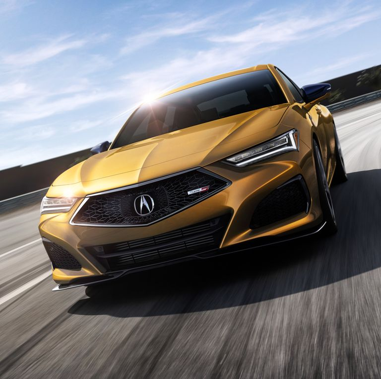 Acura TLX 2021 Type S 3.0L V-6 Produce 355 HP, 354 LB-FT
